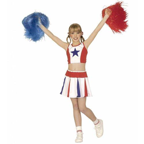 Widmann Populaire cheerleader kostuum