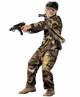 Leger Kostuum Special Force Kind