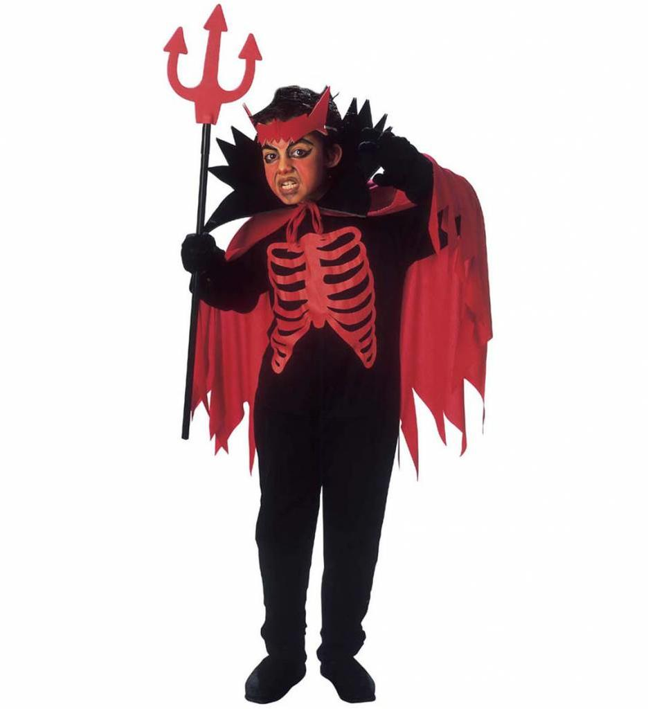 Duivel Kostuum Scary Devil Kind