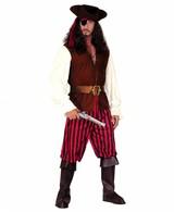 Folter Piraat Kostuum