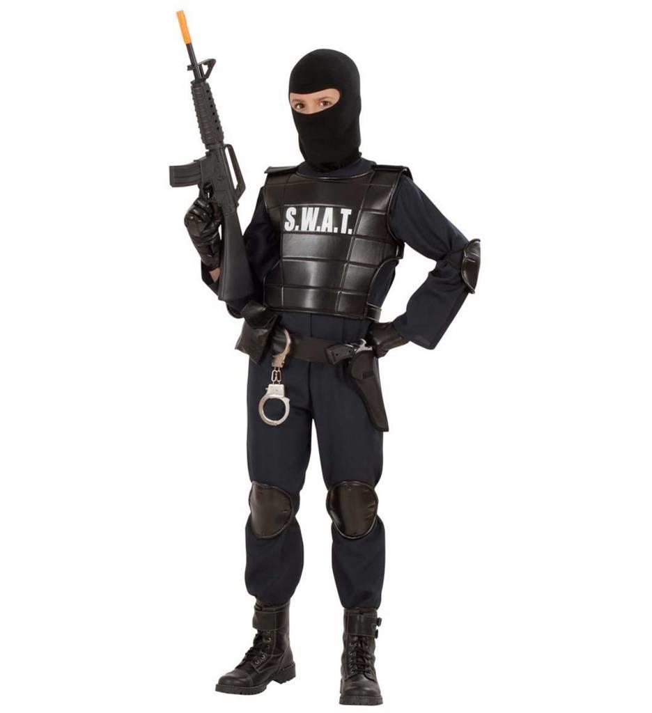 Swat Carnaval Kostuum Officier Jongen