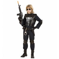 Widmann Swat Carnaval Kostuum Officier Jongen