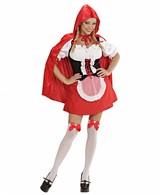 Sexy Roodkapje Kostuum