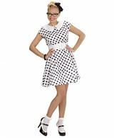 Jurk 50'S Met Petticoat Wit