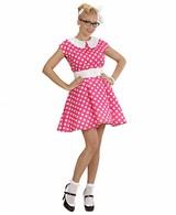 Jurk 50'S Met Petticoat Roze