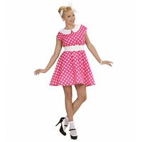 Widmann Jurk 50'S Met Petticoat Roze