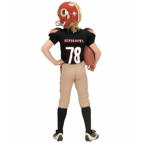 Widmann American Football Kostuum Kind