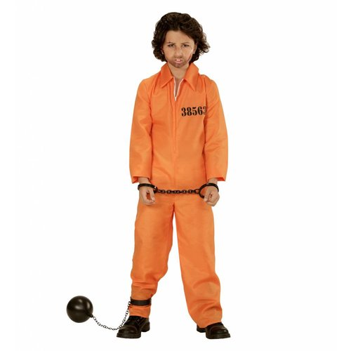 Widmann Boevenpak Oranje Kind
