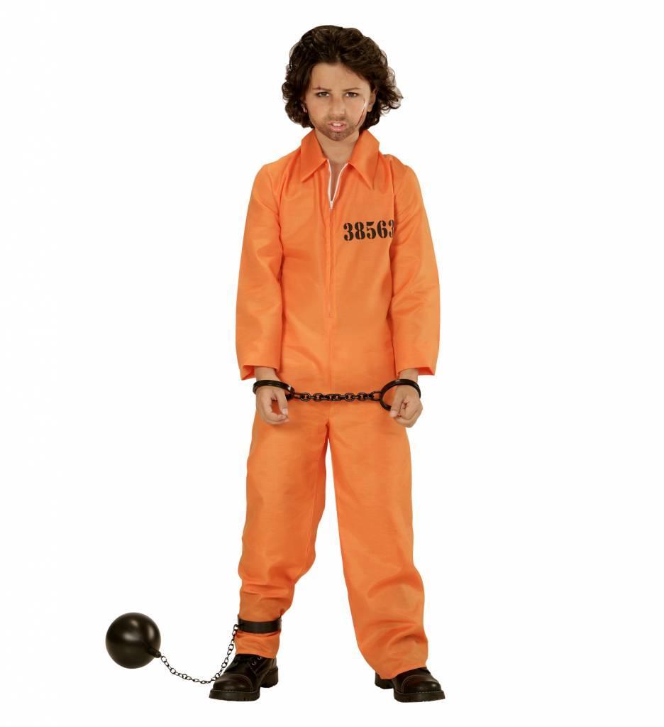 Boevenpak Oranje Kind