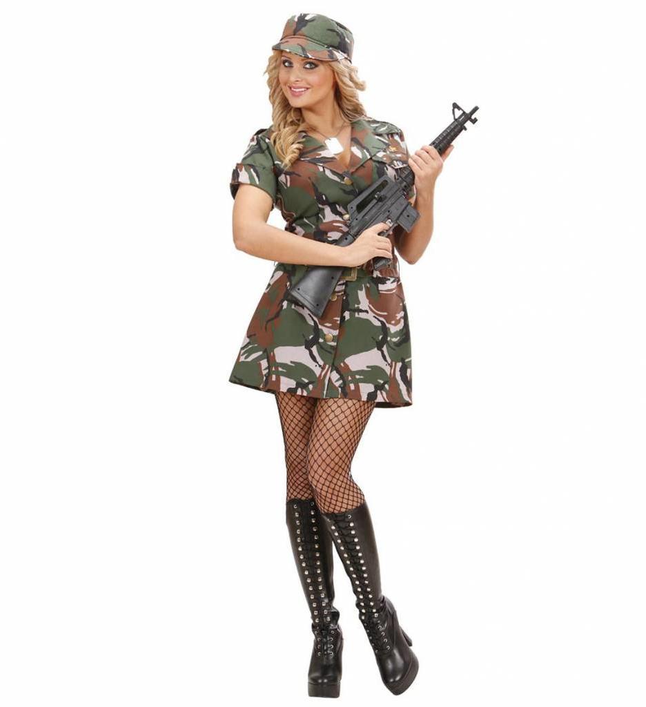 Soldatenmeisje Amerikaanse Leger