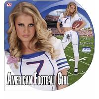 Widmann American Football Kostuum Meisje