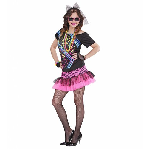 Widmann 80'S Party Outfit Rock Chick