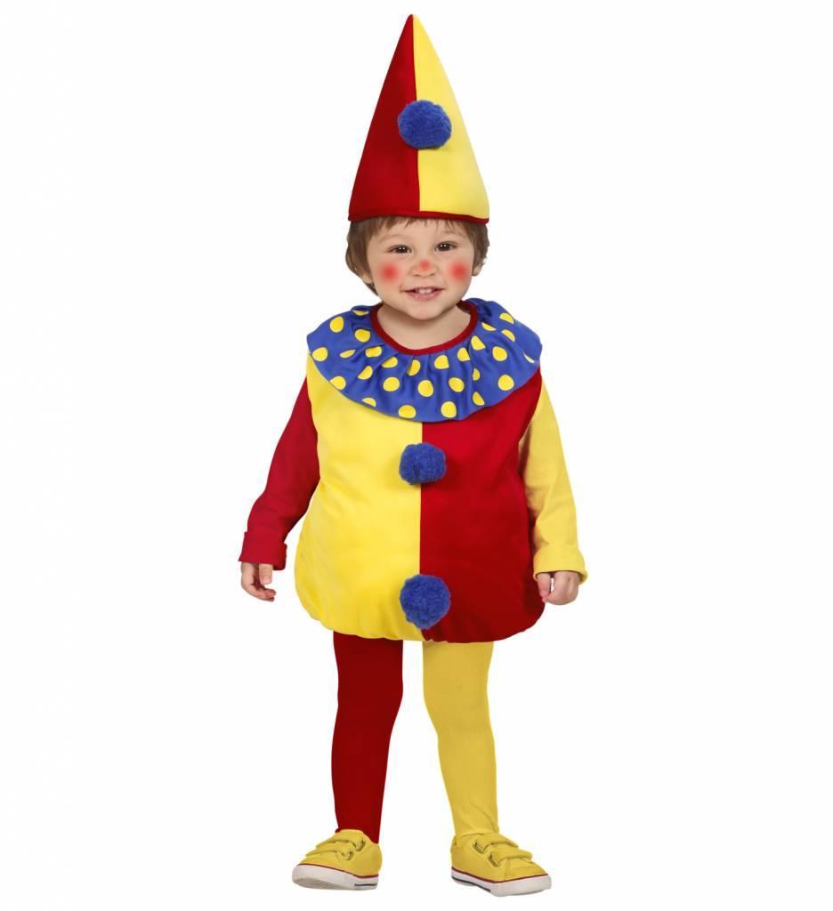Opgevuld Clownspak Kind