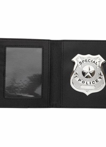 Politiebadge Met Portefeuille