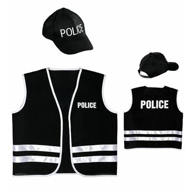 Politie Vest Met Cap