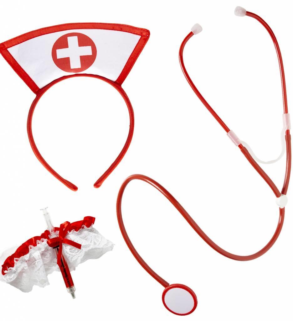 Verpleegster Set 3-Delig