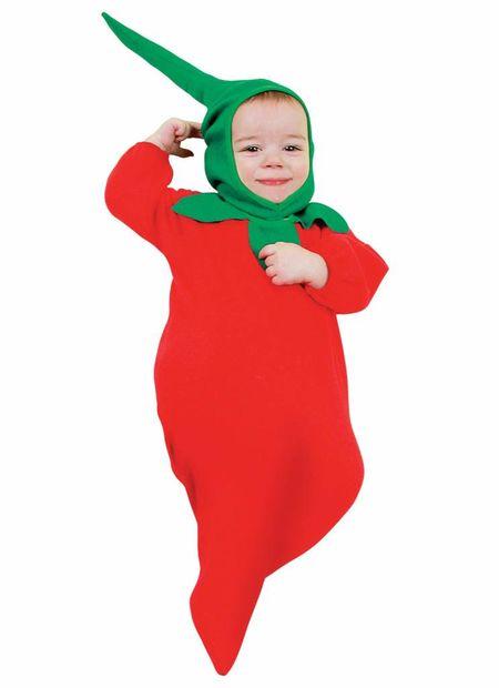 Rode Peper, Baby