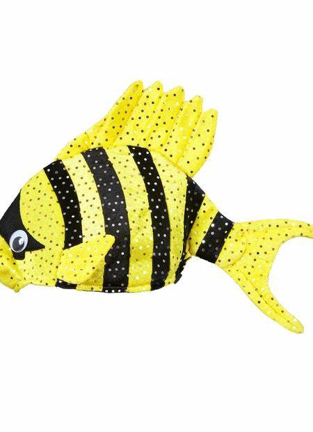 Hoed Tropische Vis, Geel