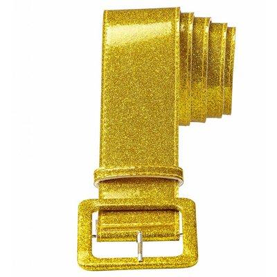 Riem Glitter 120Cm Goud
