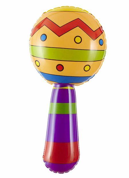 Opblaasbare Sambaballen Met Geluid, 20Cm
