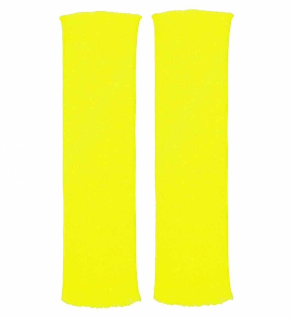 Beenwarmers Neon Geel