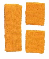 Zweetband Set Neon Oranje