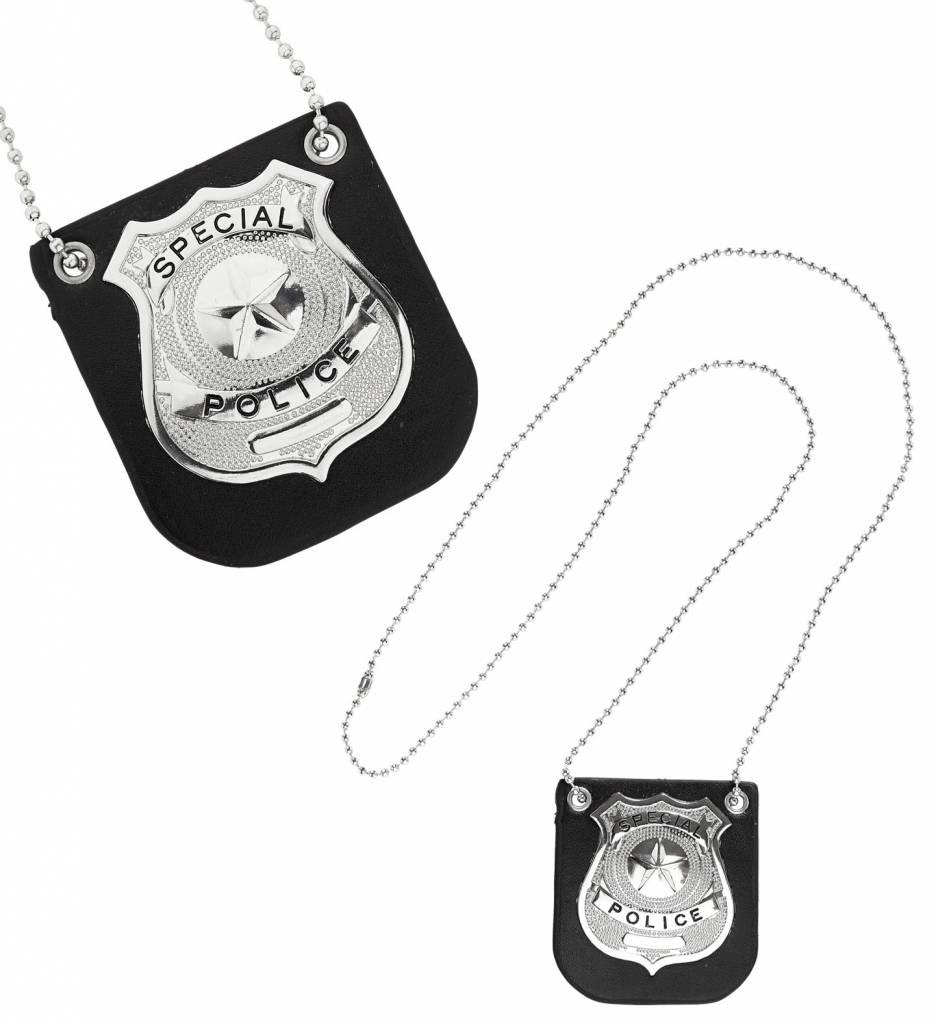 Politie Badge Met Klem