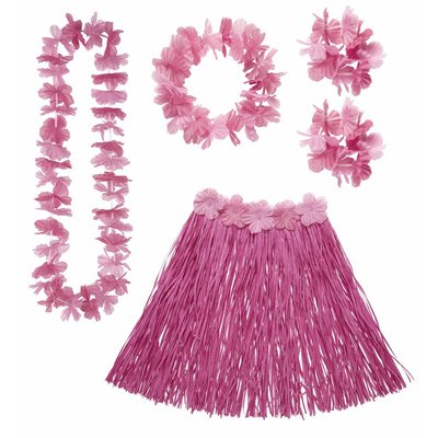 Hawaii Set Roze