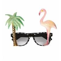 Bril Flamingo En Palmboom