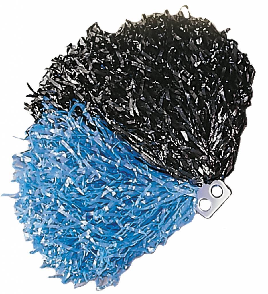 Pom Pom Zwart/Blauw