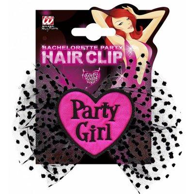 Hairclip Partygirl