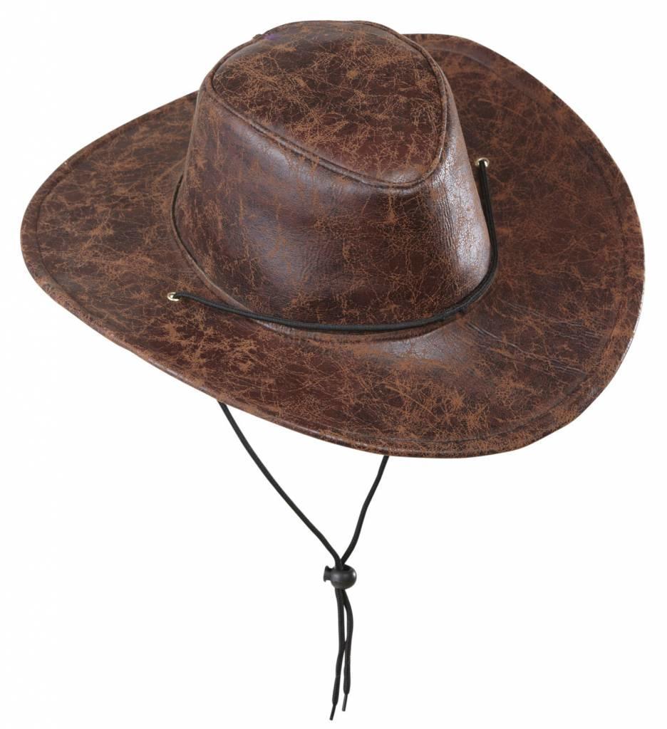 Cowboyhoed Lederlook