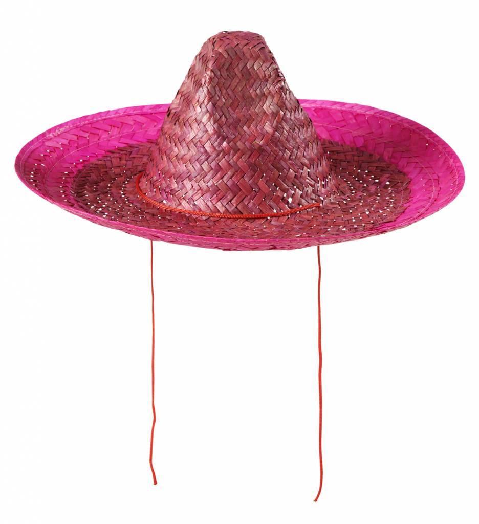 Sombrero 48Cm Roze