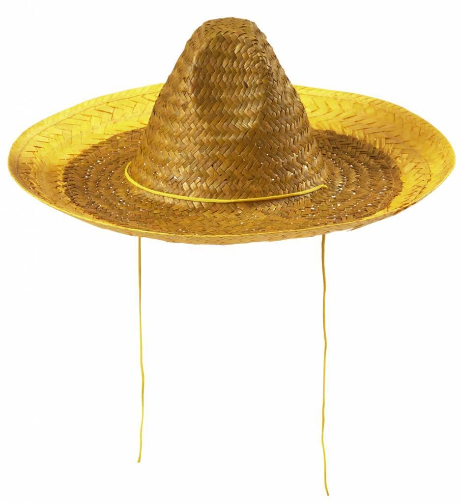Sombrero 48Cm Geel