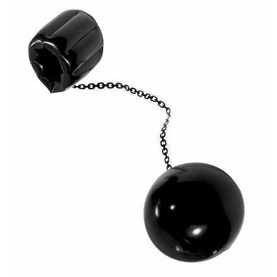 Opblaasbare Bal Met Ketting 25 Cm