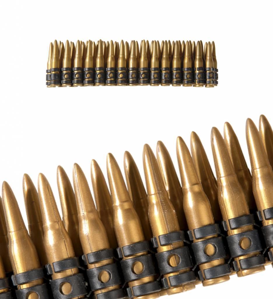 Realistische Kogelriem 60 Kogels