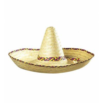 Grote Sombrero Blanco 65Cm