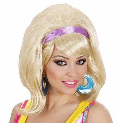 Pruik 60'S Modieus Blond