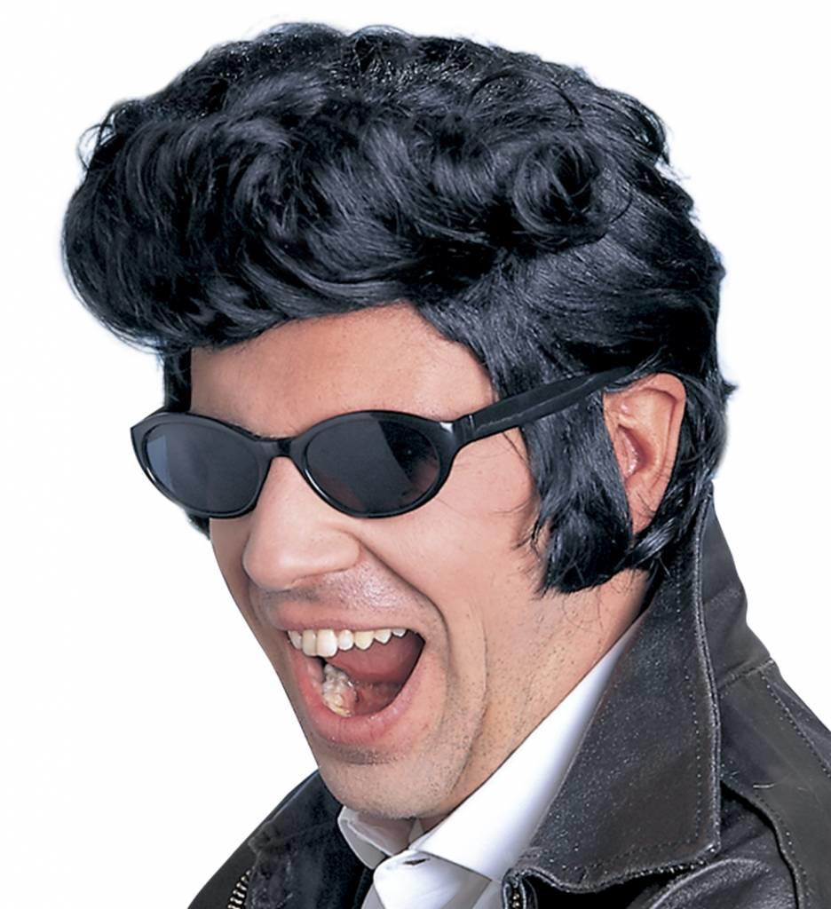 Pruik Elvis (In Plastic Doos)