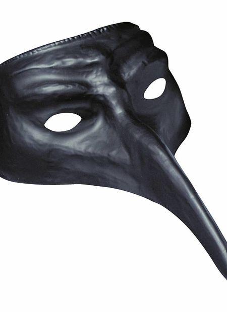 Venetiaans Masker, Zwart