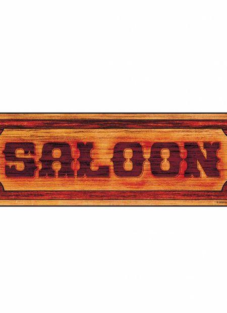 "Schild ""Saloon"""