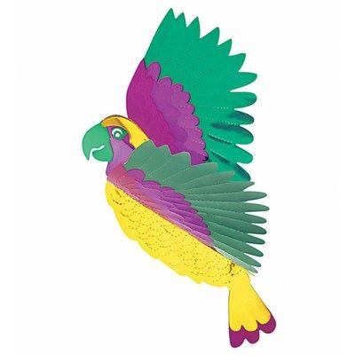 Pvc Decoratie Metalic Vogels
