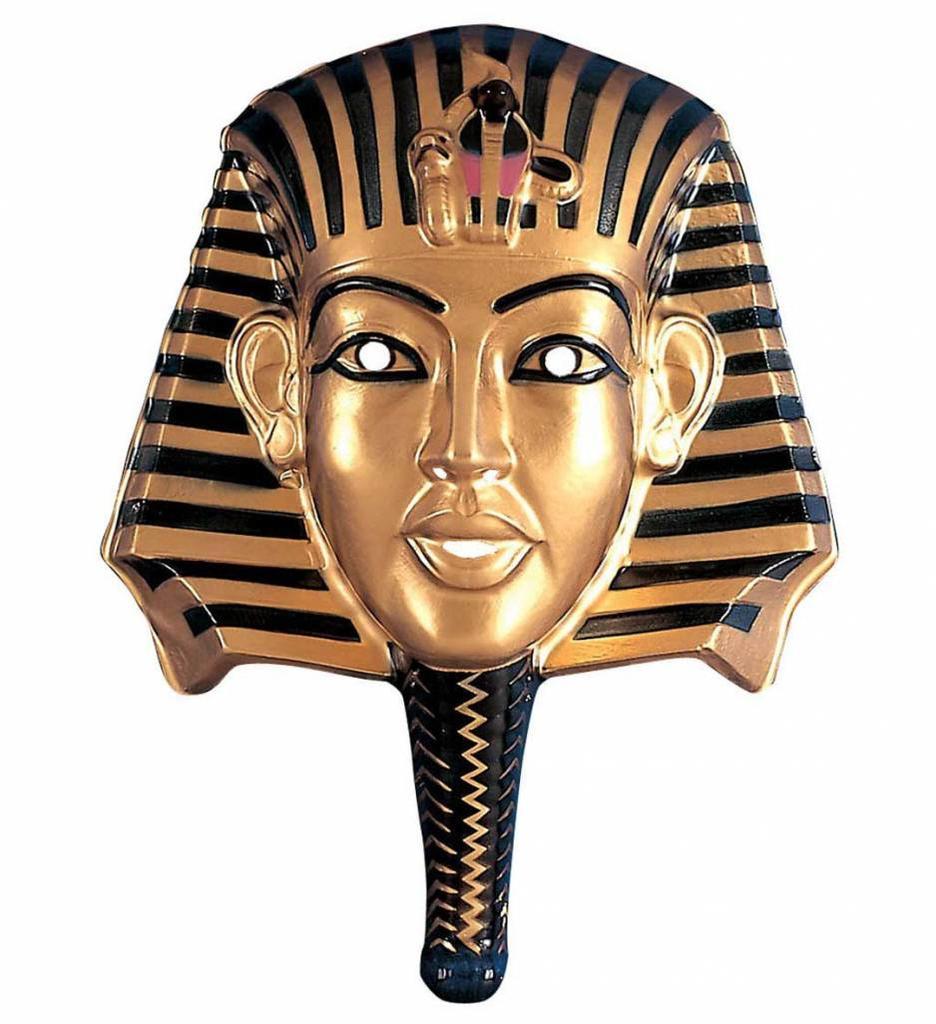 Plastic Farao Masker
