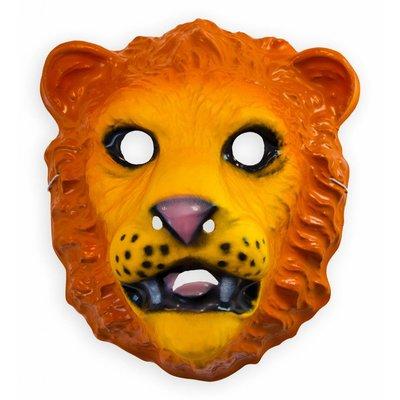 Plastic Kindermasker Leeuw