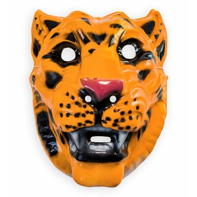 Plastic Masker Tijger