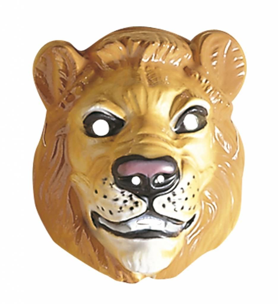 Plastic Masker Leeuw