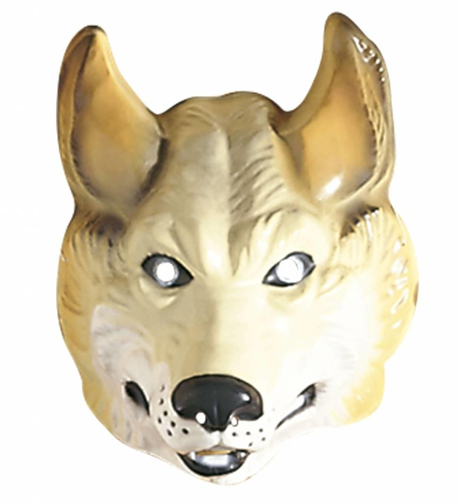 Plastic Masker Wolf
