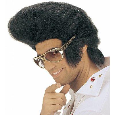 Pruik Elvis Jumbo (In Plastic Zak)