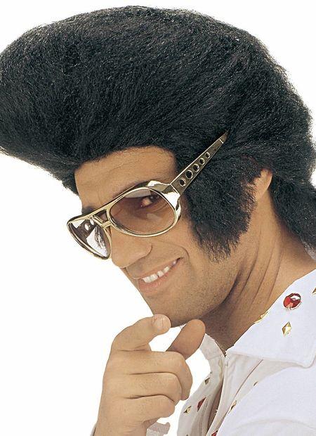 Pruik, Elvis Jumbo (In Plastic Zak)