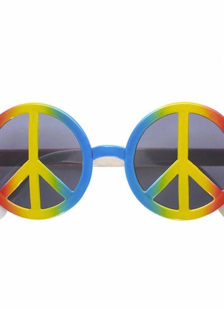 Bril, Love And Peace Multi Kleuren